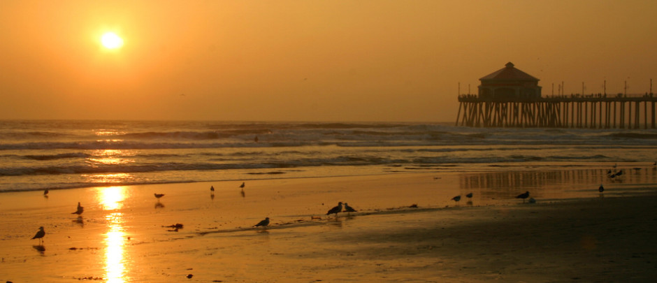 OCSCB Huntington Beach Sunset